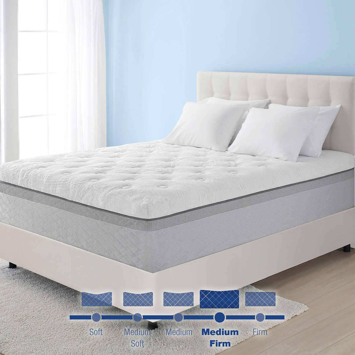 Novaform Comfort Grande Gel Memory Foam Twin Mattress