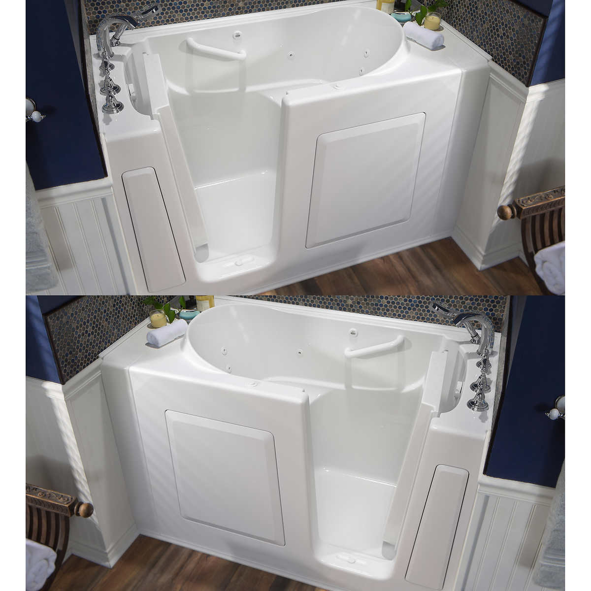 American Standard® 30 in. x 54 in. Walk-in Bathtub with 13 Jet ...