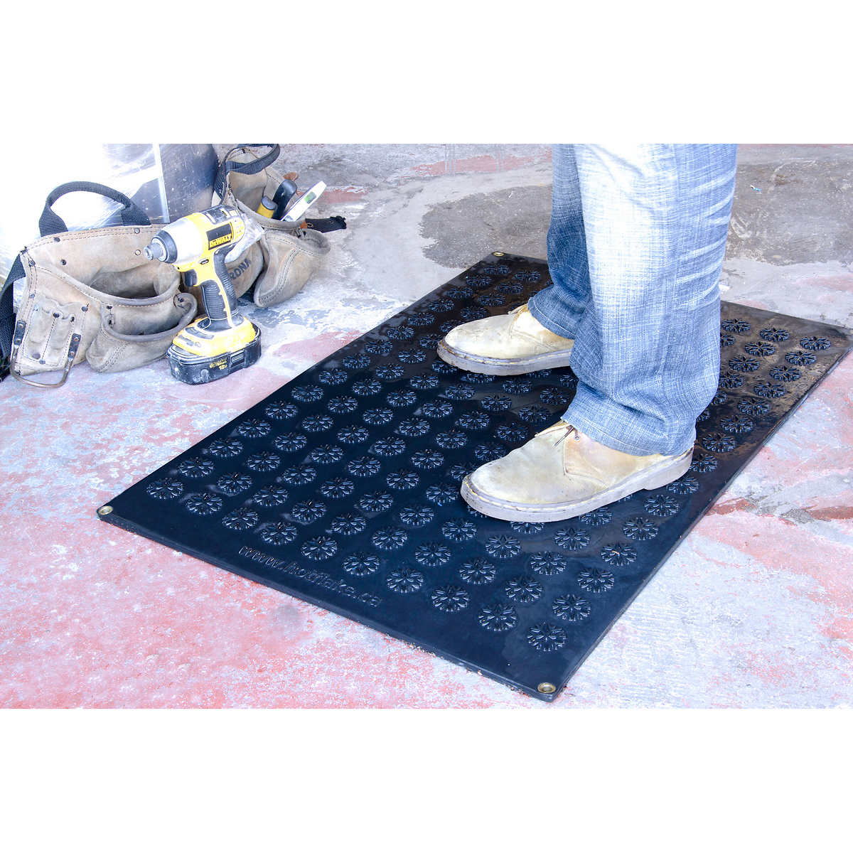 cozy flooring depot rubber fwb foot mats black super warmer the rugs n products outdoor heated home b