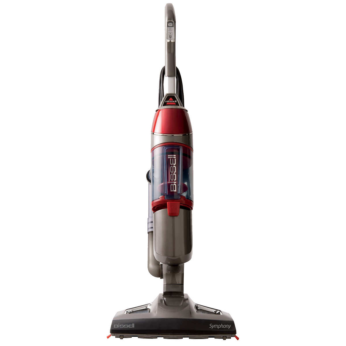 Bissell symphony complete all in one vacuum and steam mop with steam boost technology