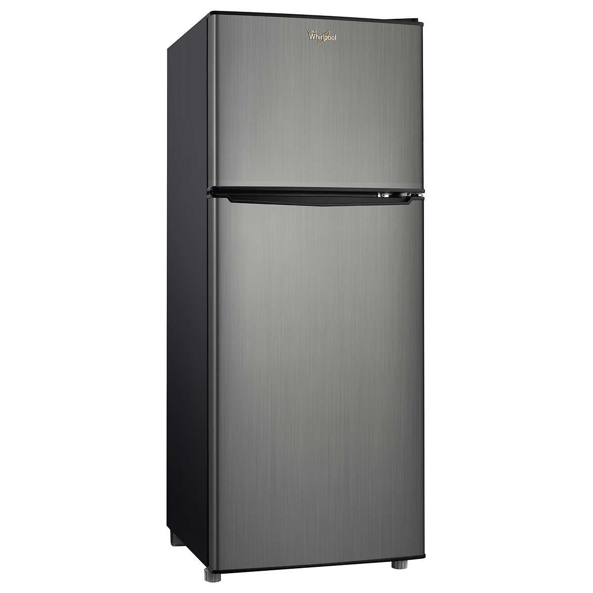Whirlpool white ice costco canada - Whirlpool 4 6 Cu Ft Top Mount Refrigerator With Stainless Steel Look