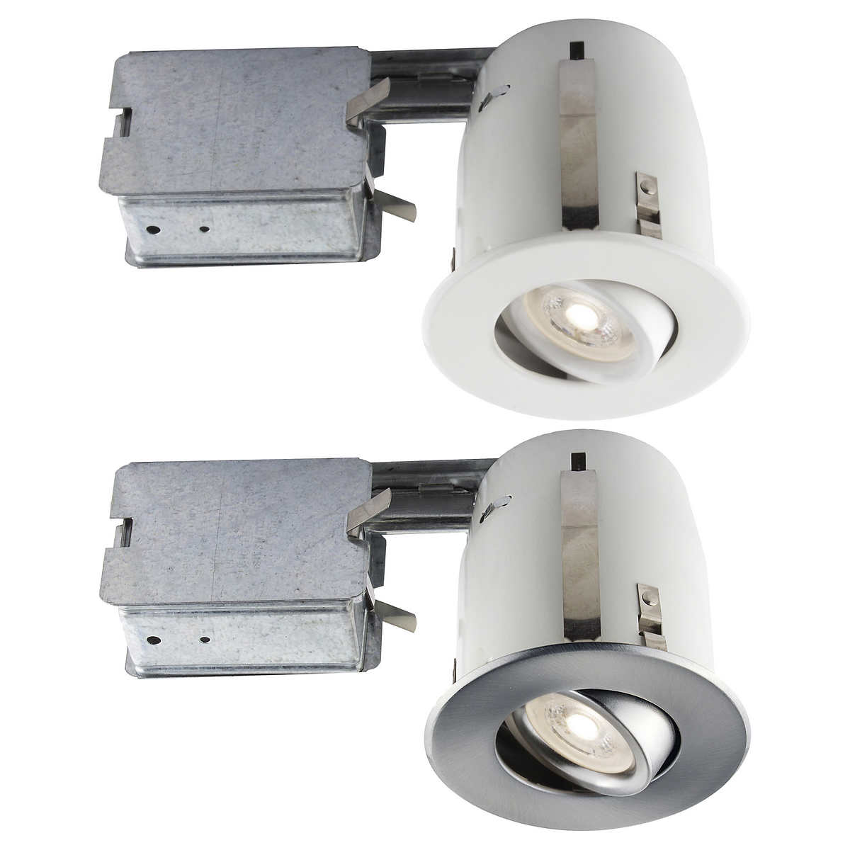 Recessed LED Lighting Kit GU10  4 packRecessed Lighting   Costco. Recessed Led Lighting Fixtures Canada. Home Design Ideas