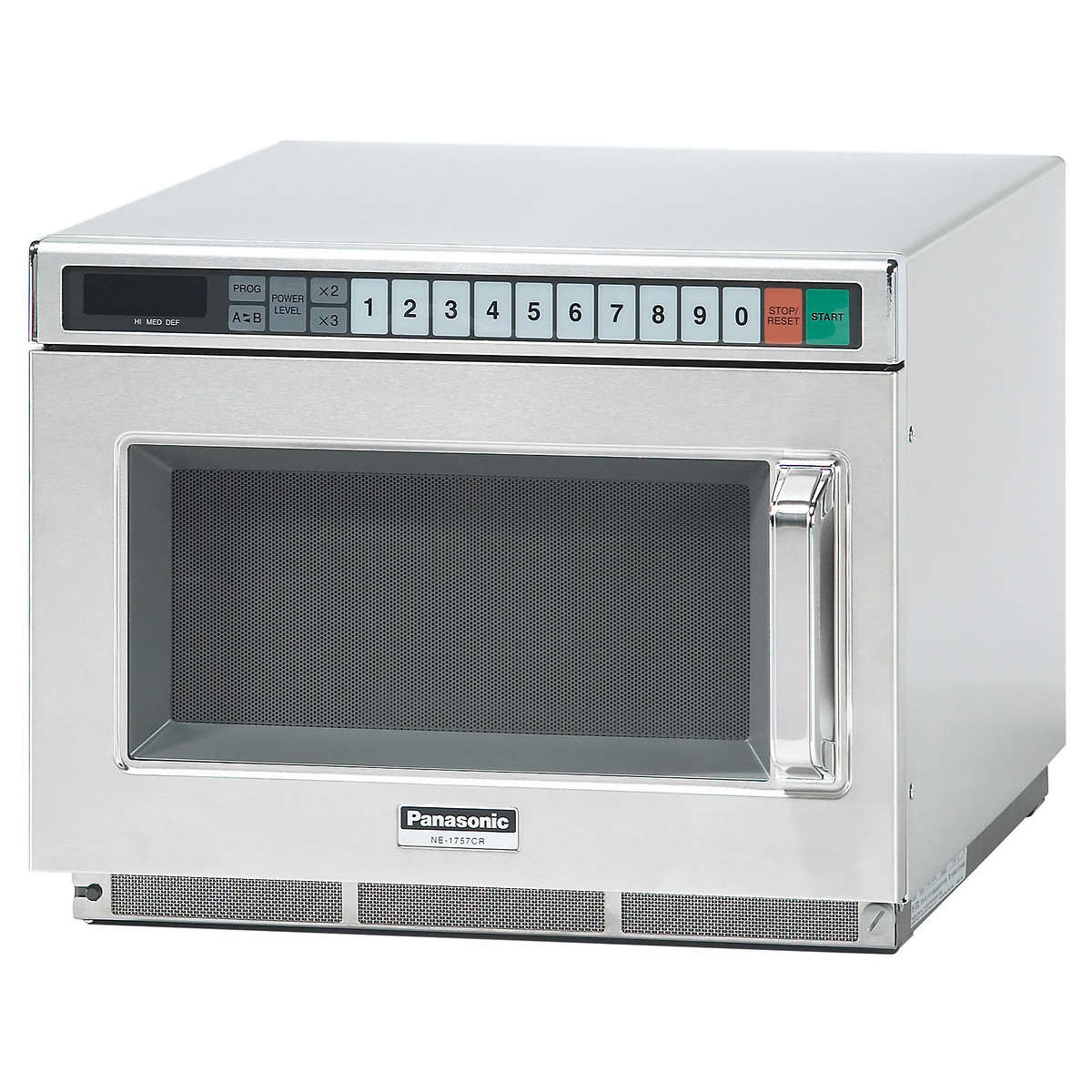 Panasonic 0 6 Cu Ft Commercial Microwave Oven 1200 W 2100
