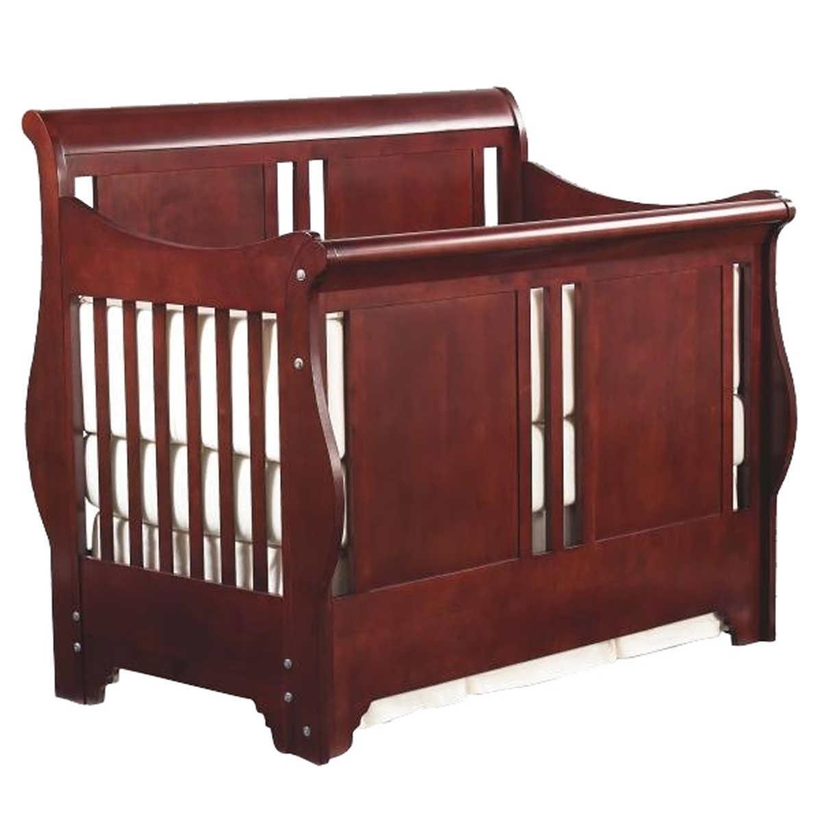 Baby crib for sale ottawa - Bradford 3 In 1 Crib Cherry Finish