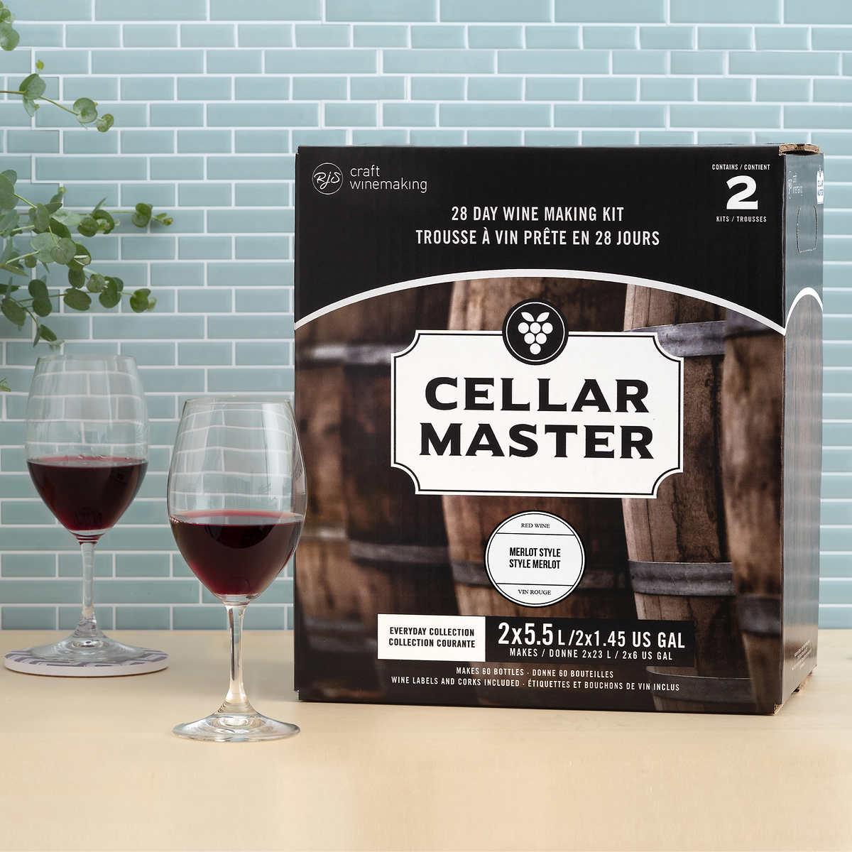 Cellar craft wine kits - Cellar Master Cabernet Sauvignon