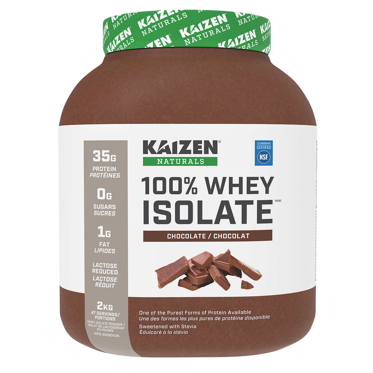 Kaizen Naturals Whey Isolate Protein Review