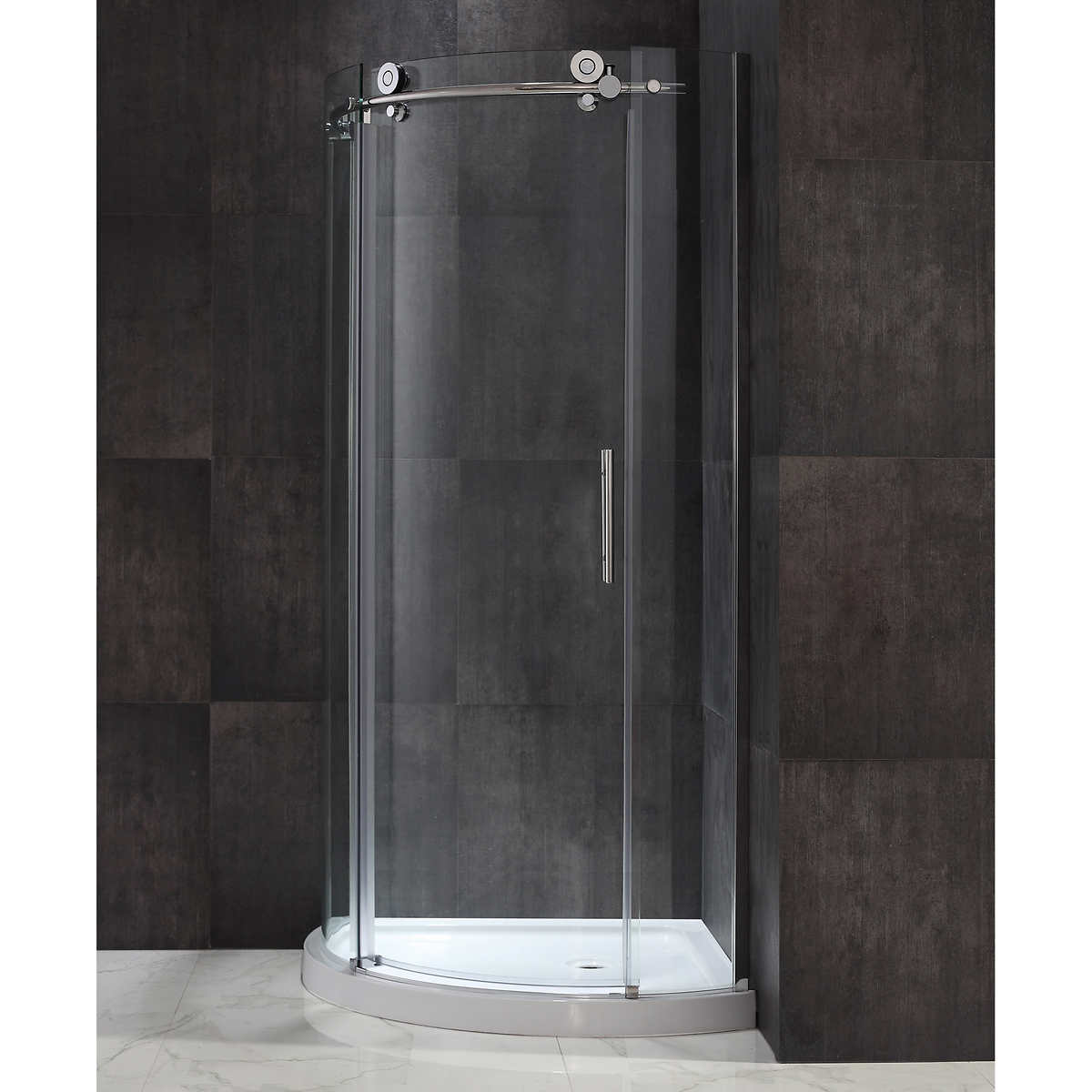 Ove Madison 60 in. Shower Enclosure with 10 mm Tempered Glass