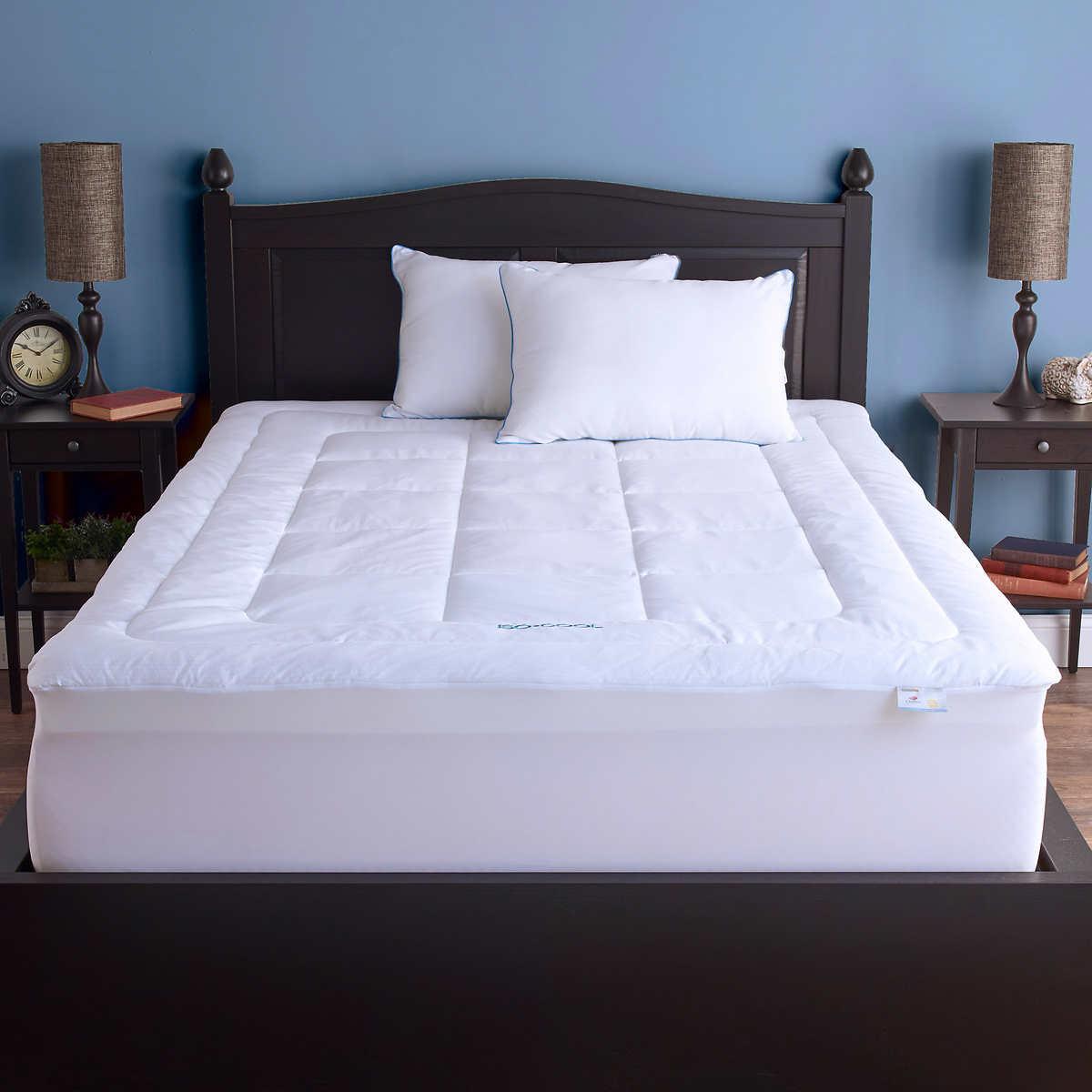 SleepBetter Iso-Cool Memory Foam Mattress Topper