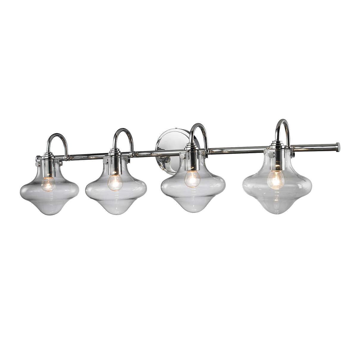 Costco bathroom lighting - L2 Lighting 4 Light Bath Vanity Light