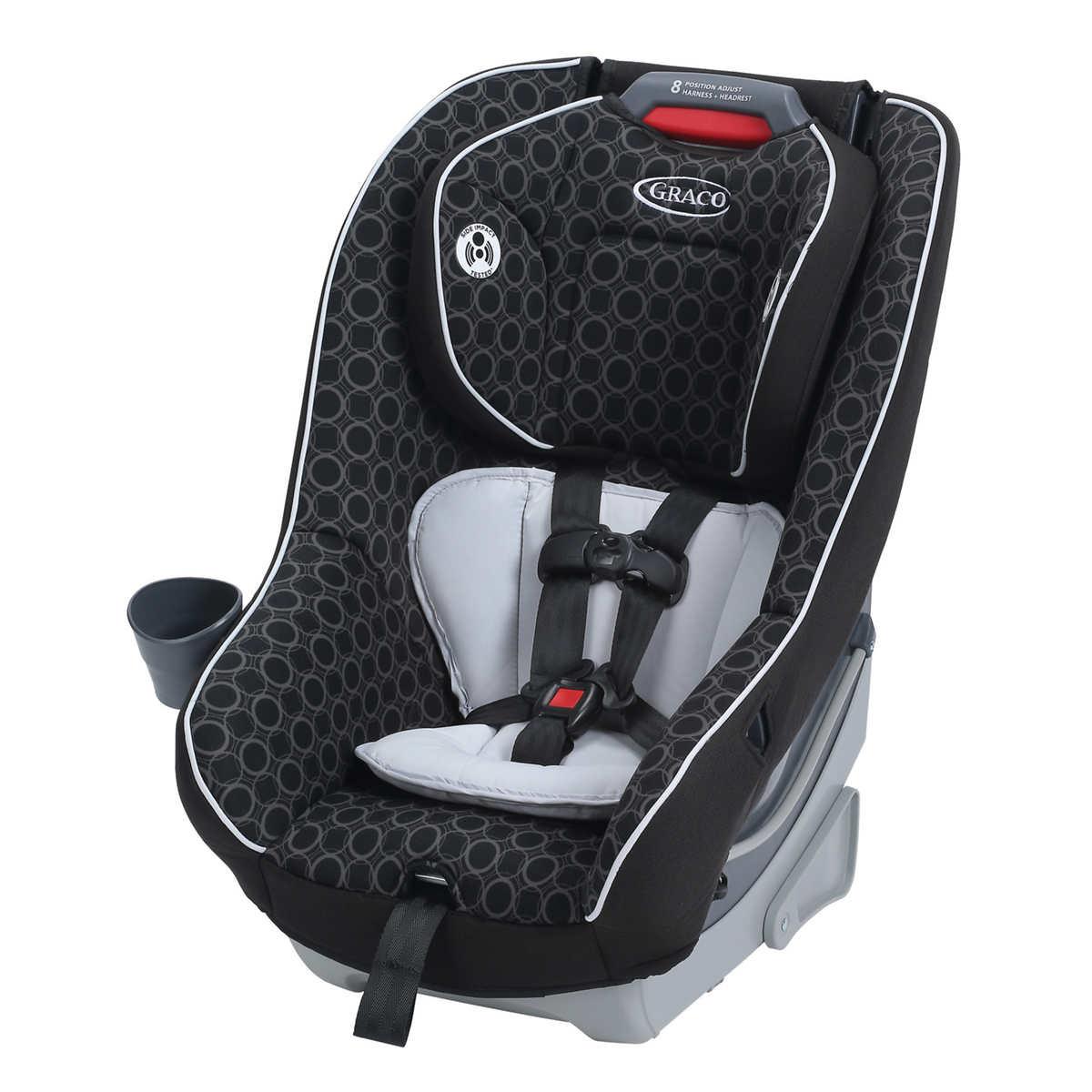Graco contender 65 convertible car seat black carbon