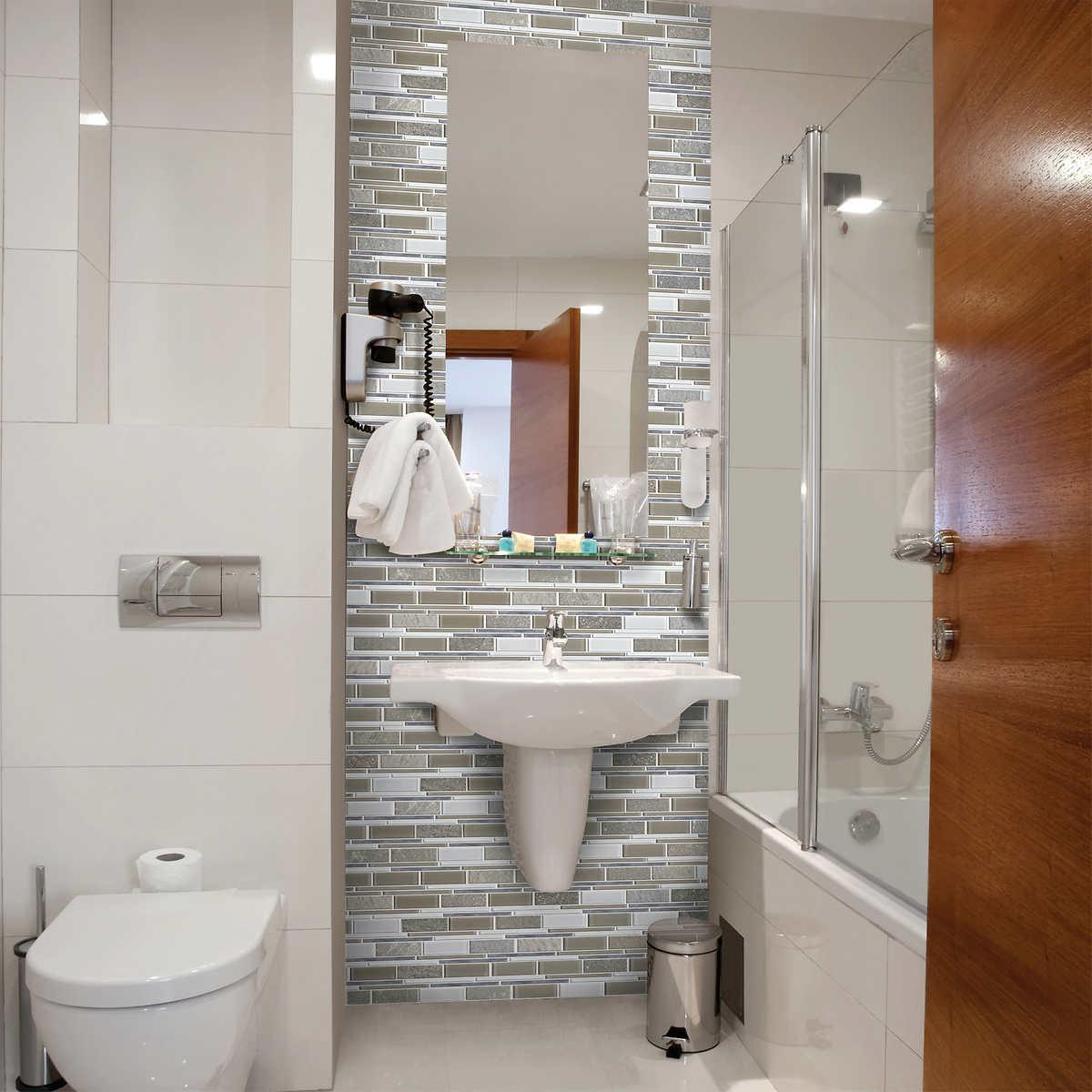 Awe Inspiring Golden Select Colorado Glass And Stone Mosaic Wall Tile Interior Design Ideas Helimdqseriescom