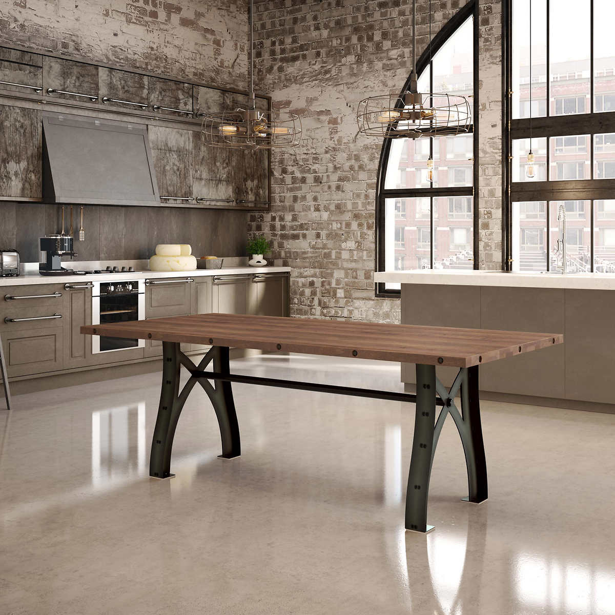 Amisco Symmetry Dining Table