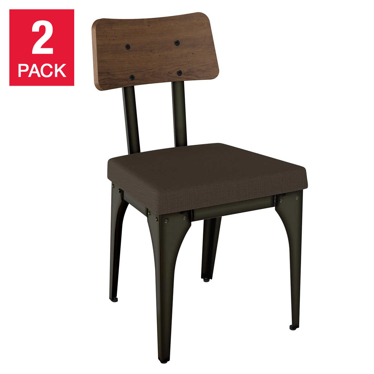 Amisco Symmetry Dining Chair 2 Pack