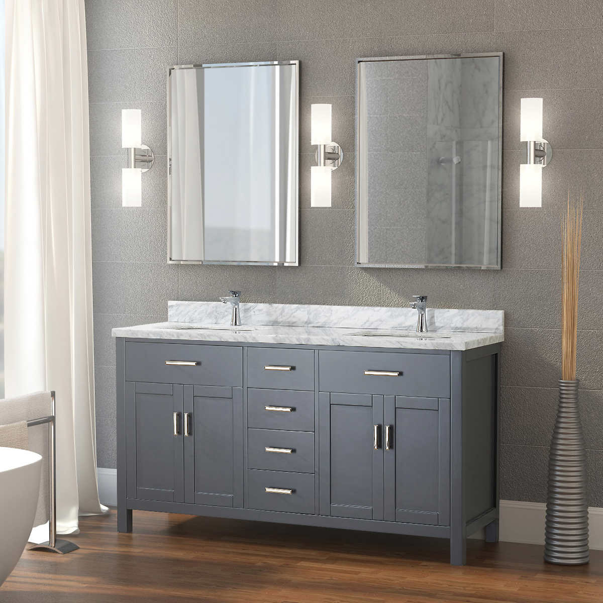 100 Double Vanity Bathroom Cherry Bathroom Cabinets Master Bathroom Vanities 60 Inches Double