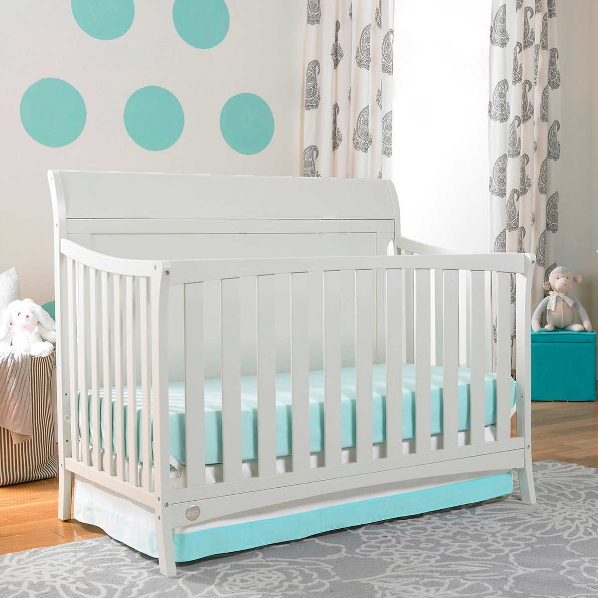 Used crib for sale edmonton - Fisher Price Georgetown Convertible Crib In Snow White