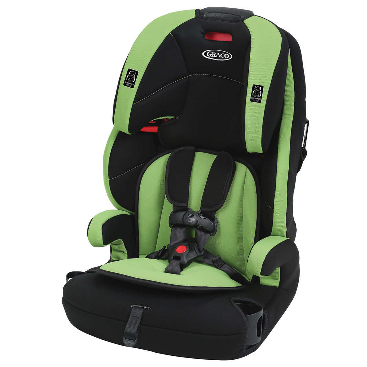 Graco Tranzitions Harnessed Booster Car Seat Spring 1