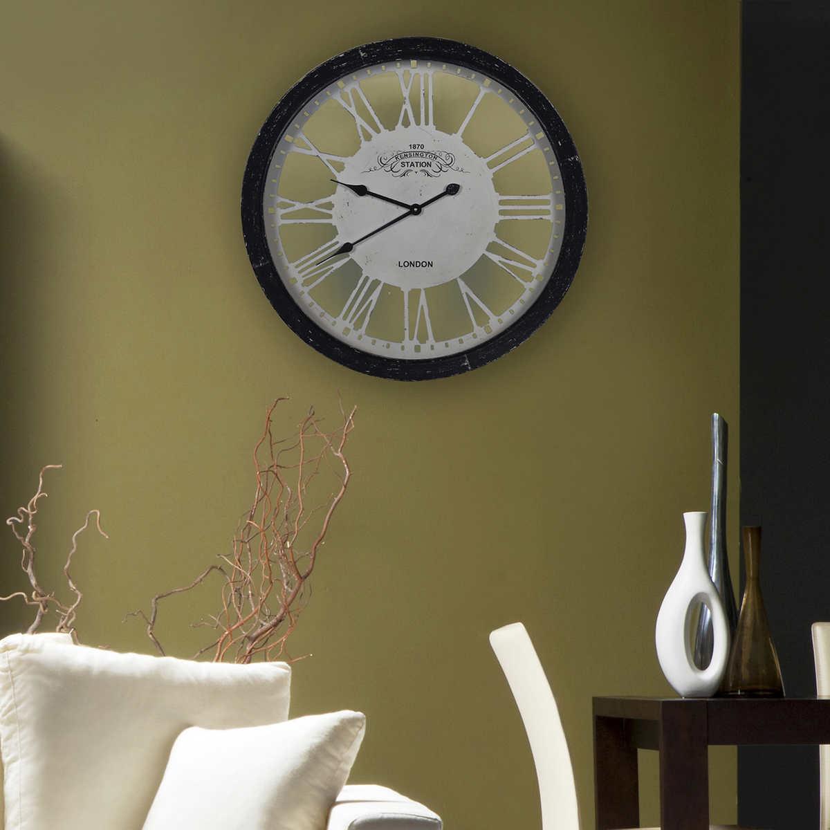 Paddington iron wall clock click to zoom amipublicfo Image collections
