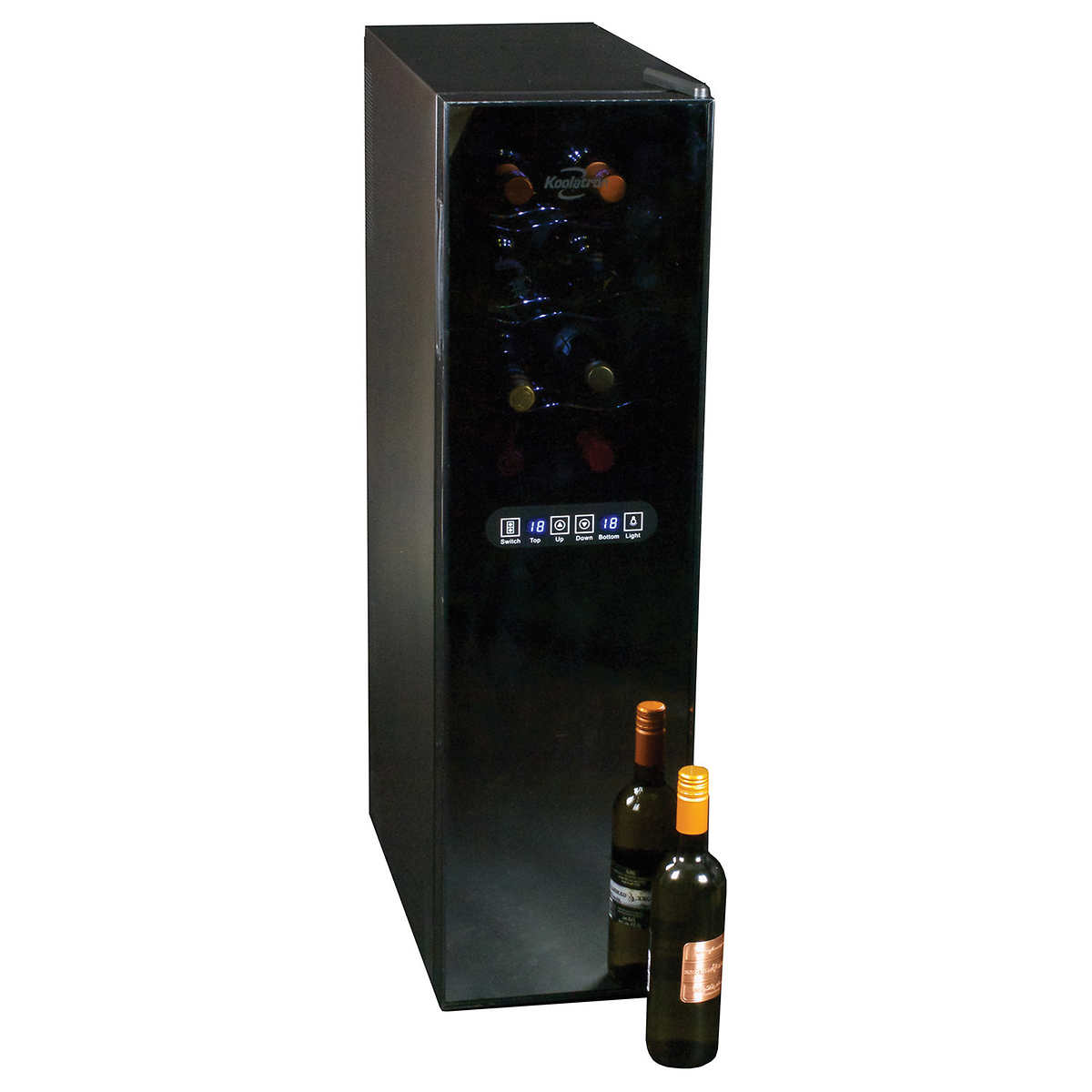 wine cellars  costco - koolatron  bottle dual zone wine cellar