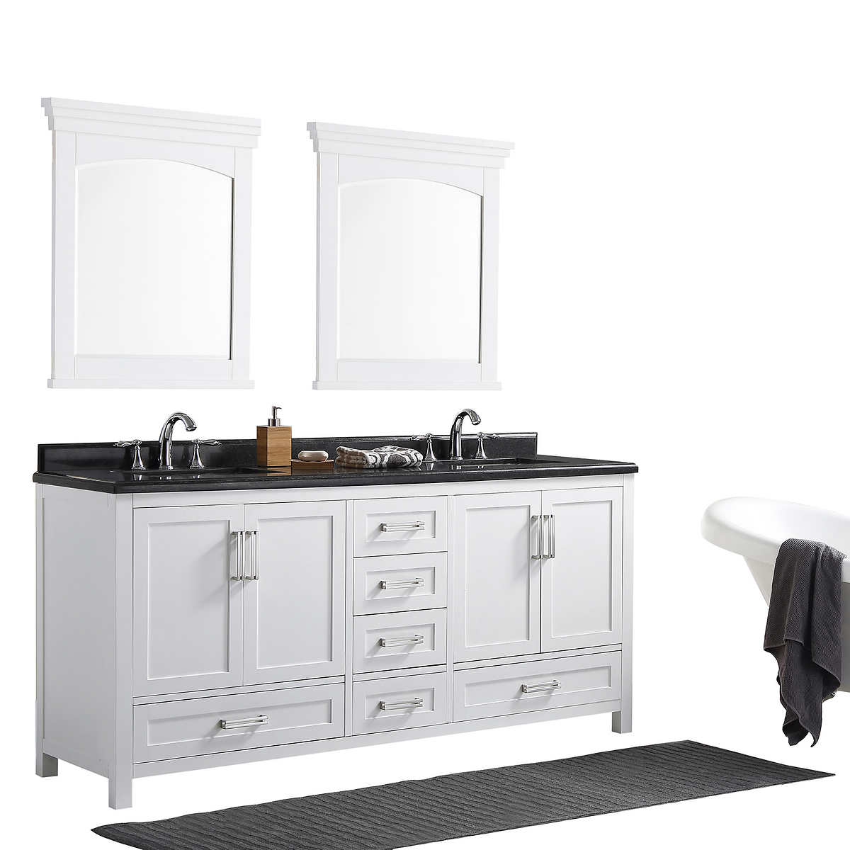 Pure White Astaire Bathroom Vanity