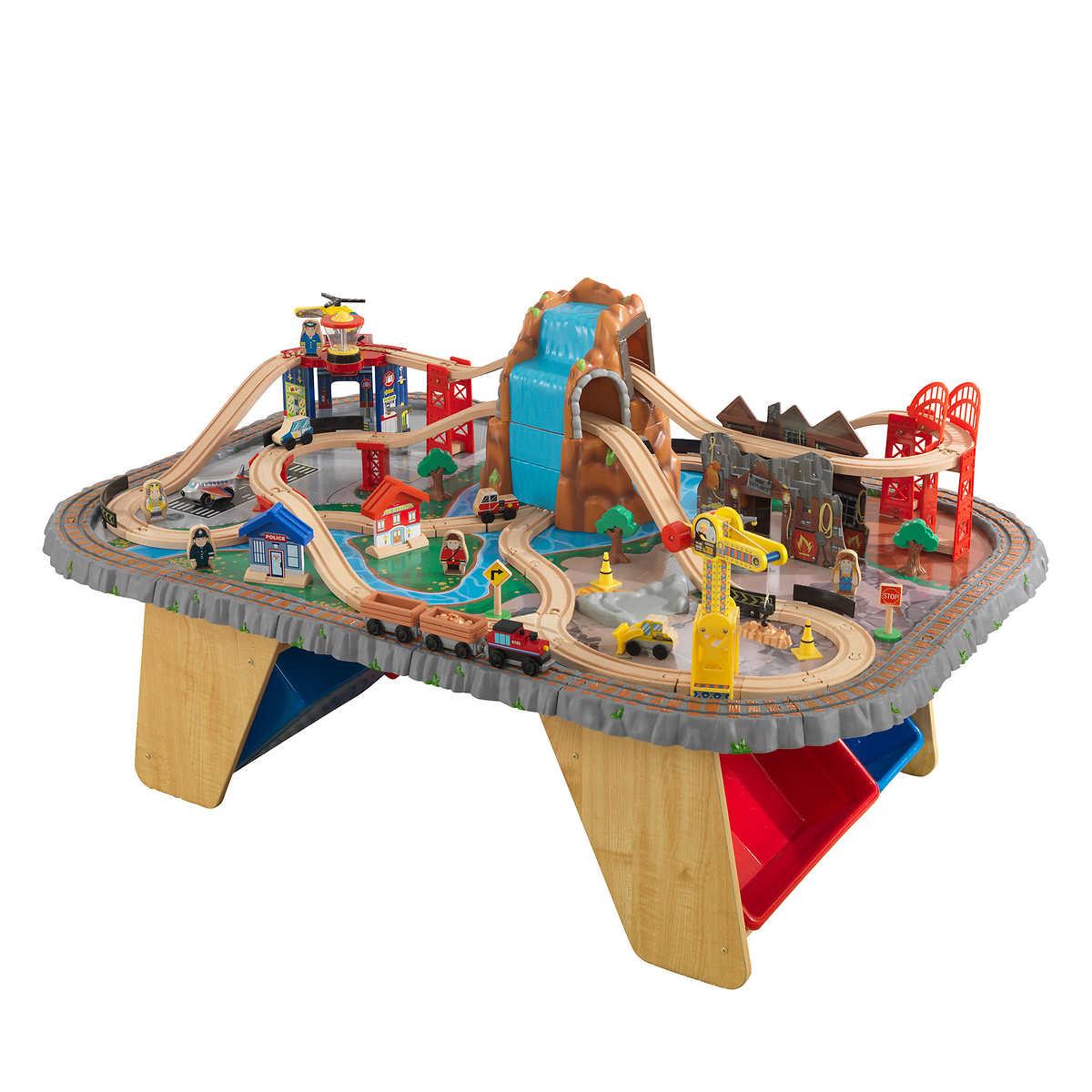 Kidkraft Metropolis Train Table And Set - Table Designs