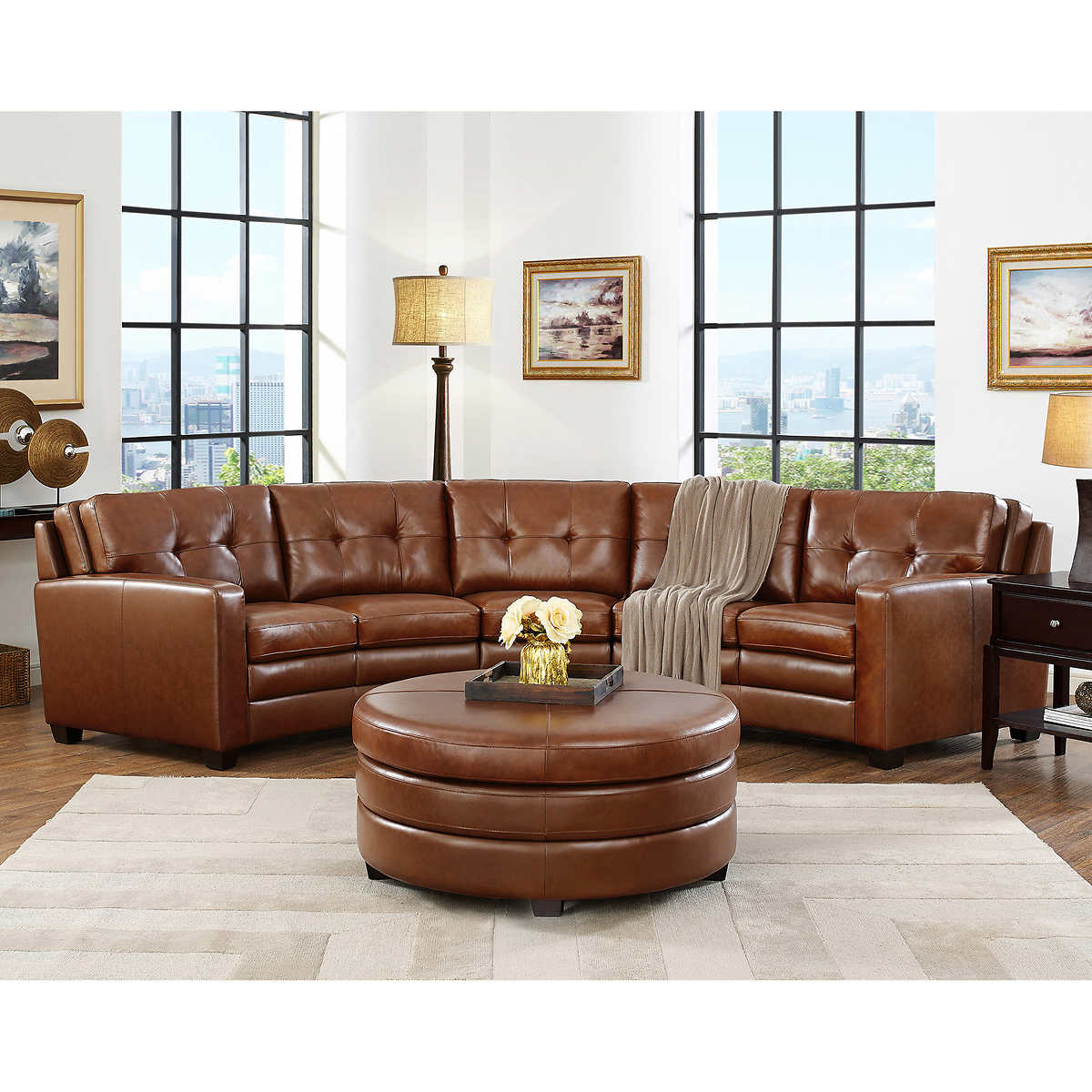 Living Room Couch Set Sectionals Chaises Costco