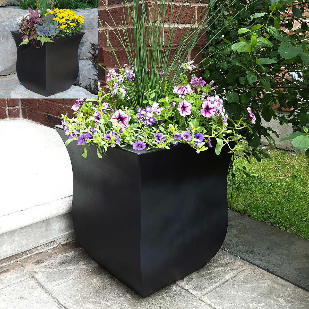 Flower vase kijiji - Valencia Square Planter