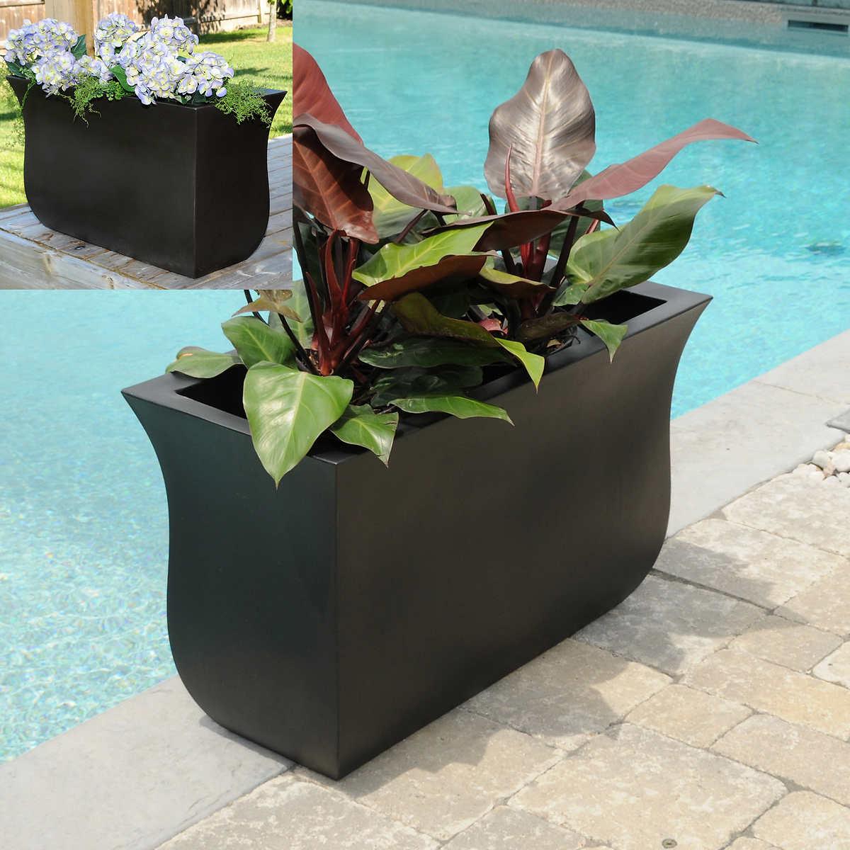 Flower vase kijiji - Valencia Long Planter
