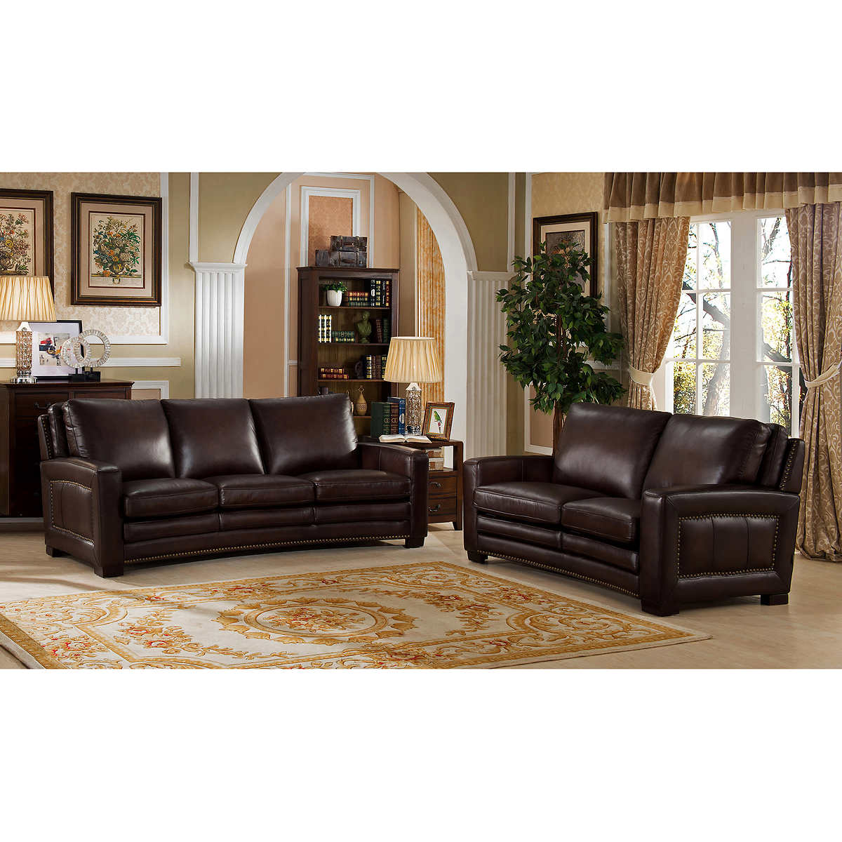 Living Room Furniture Sofas Sofas Loveseats Costco