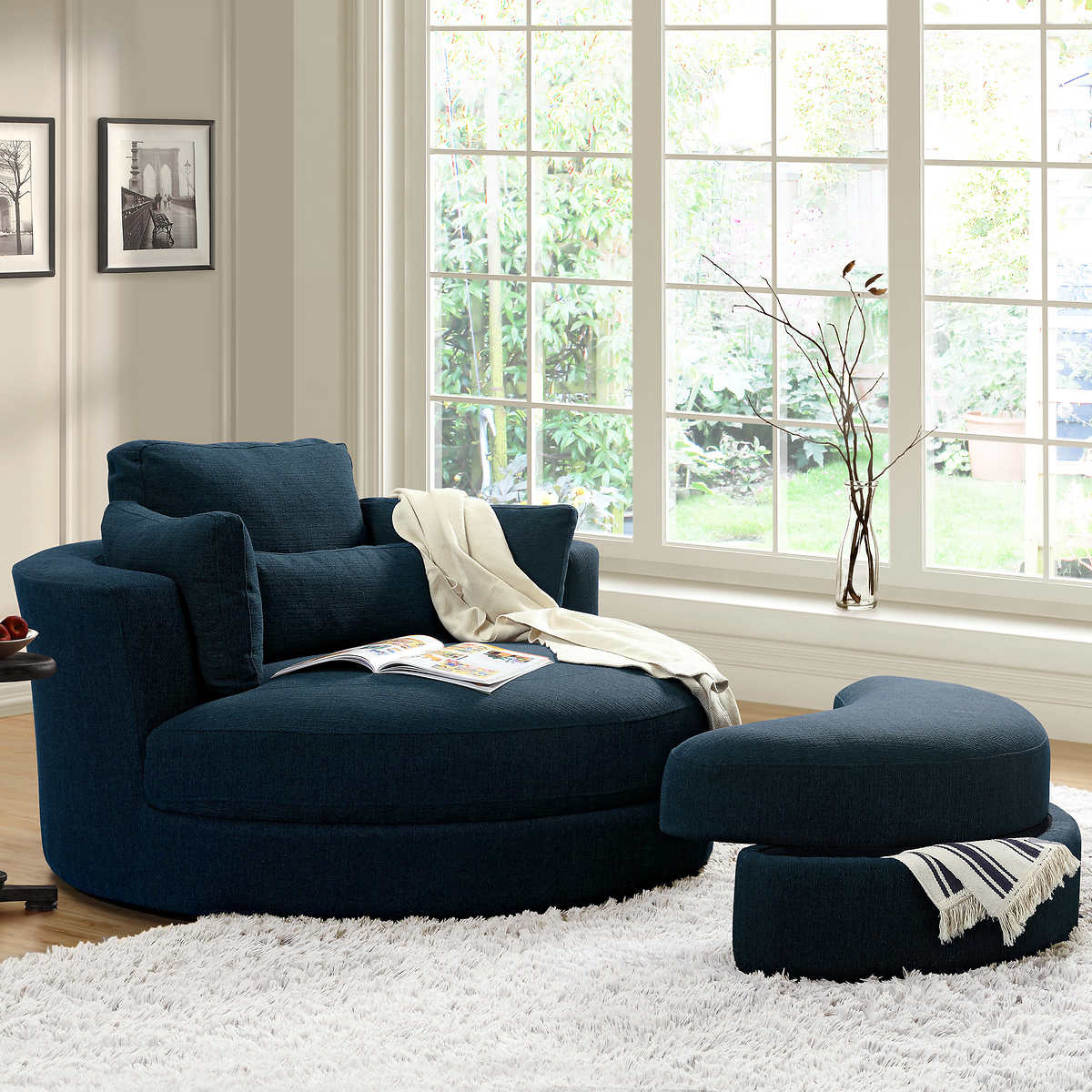Swivel Chair Living Room Accent Chairs Costco