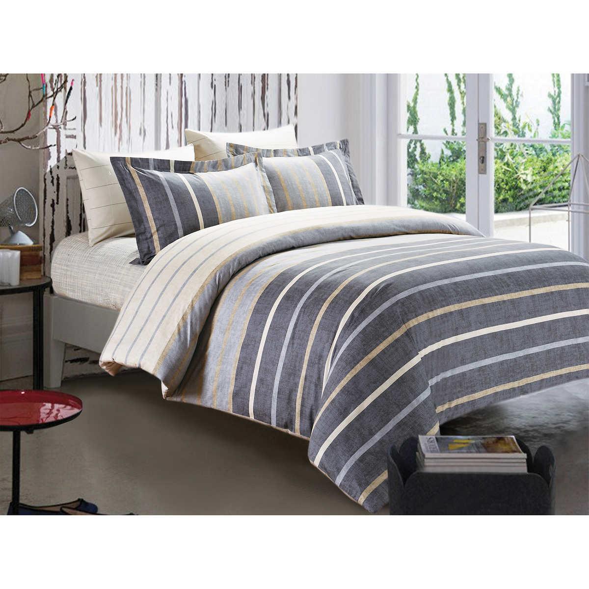 bedding sets  costco - versailles linea piece duvet cover set