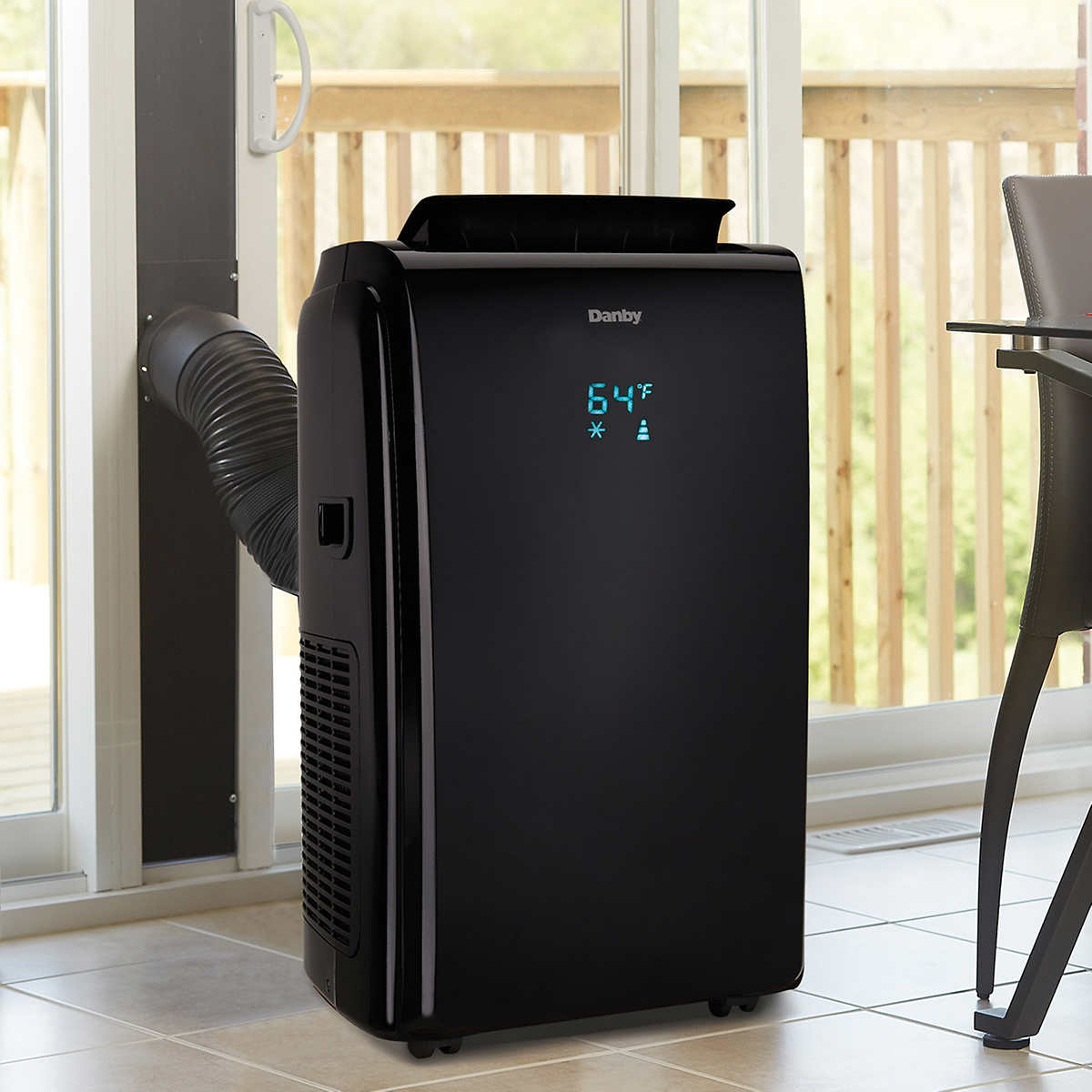 Portable Air Conditioner Troubleshooting Danby 14000 Btu Portable 4 In 1 Air Conditioner With Heat Pump