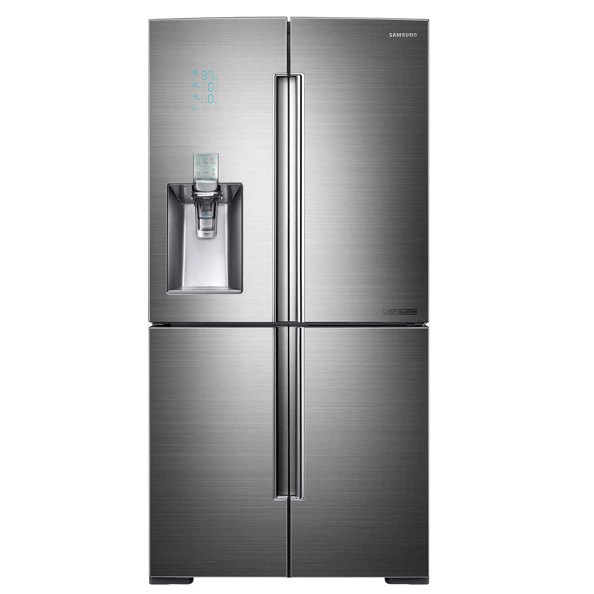 Uncategorized Kitchen Appliances Calgary refrigerators costco samsung chef collection 33 1 cu ft 4 door french refrigerator with