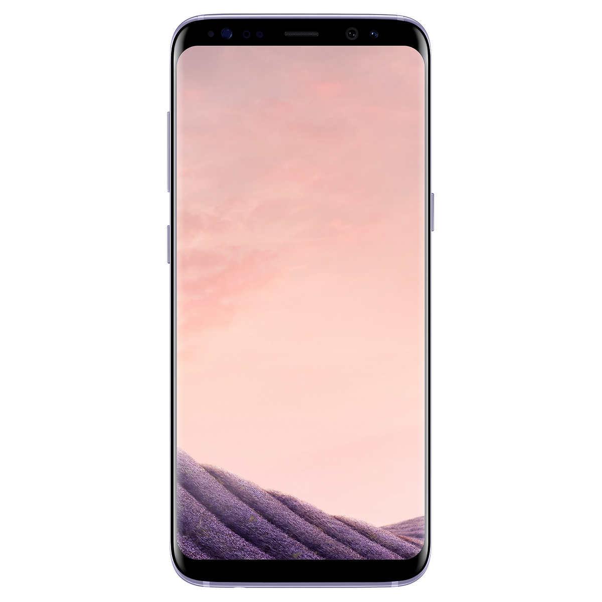 Samsung Galaxy S8 Orchid Grey Smartphone Unlocked