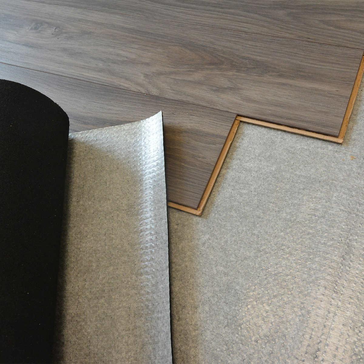 Technoflex Premium Acoustic Underlayment With Vapor Barrier