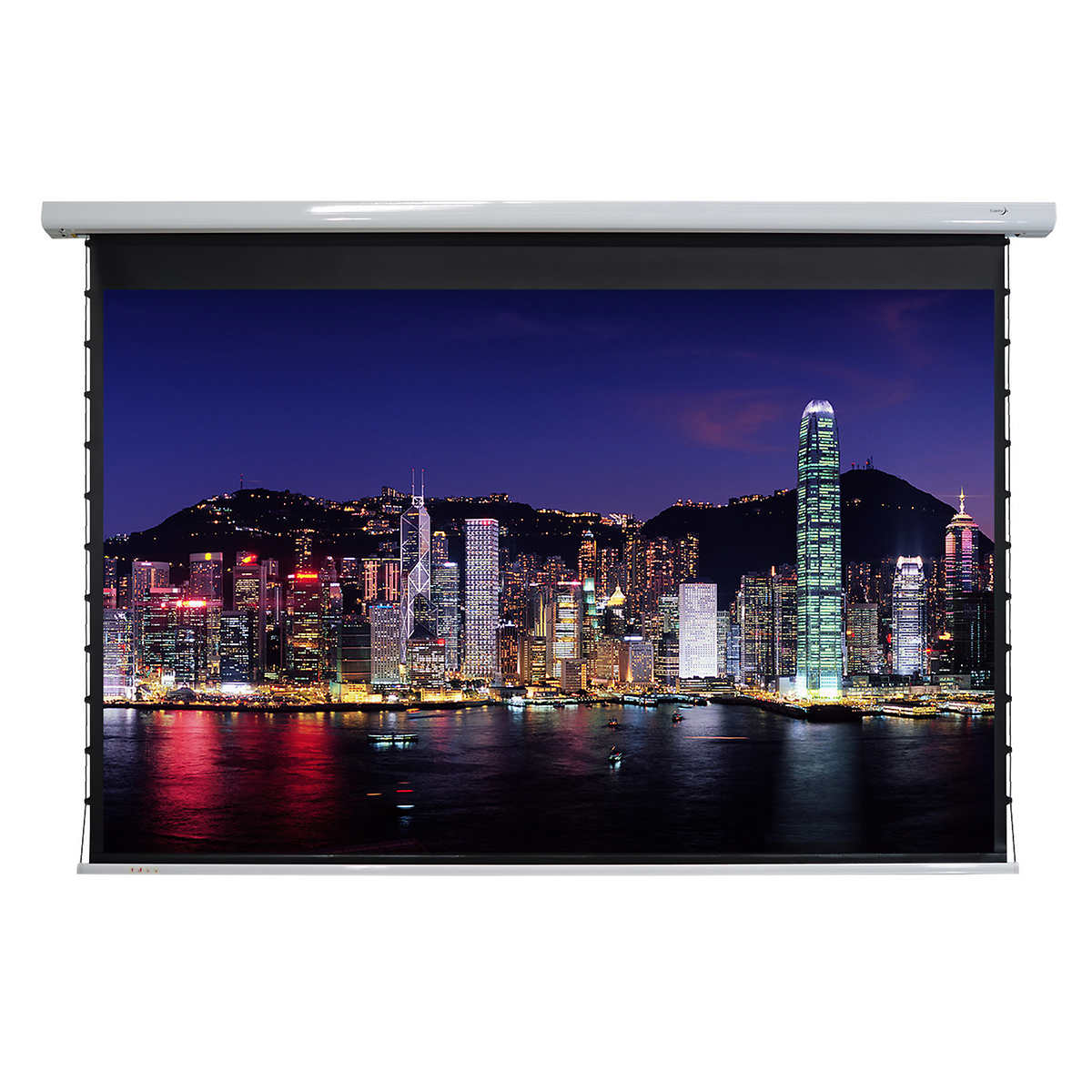 Elunevision Titan 106 in  Tab-tensioned Motorized Projection Screen