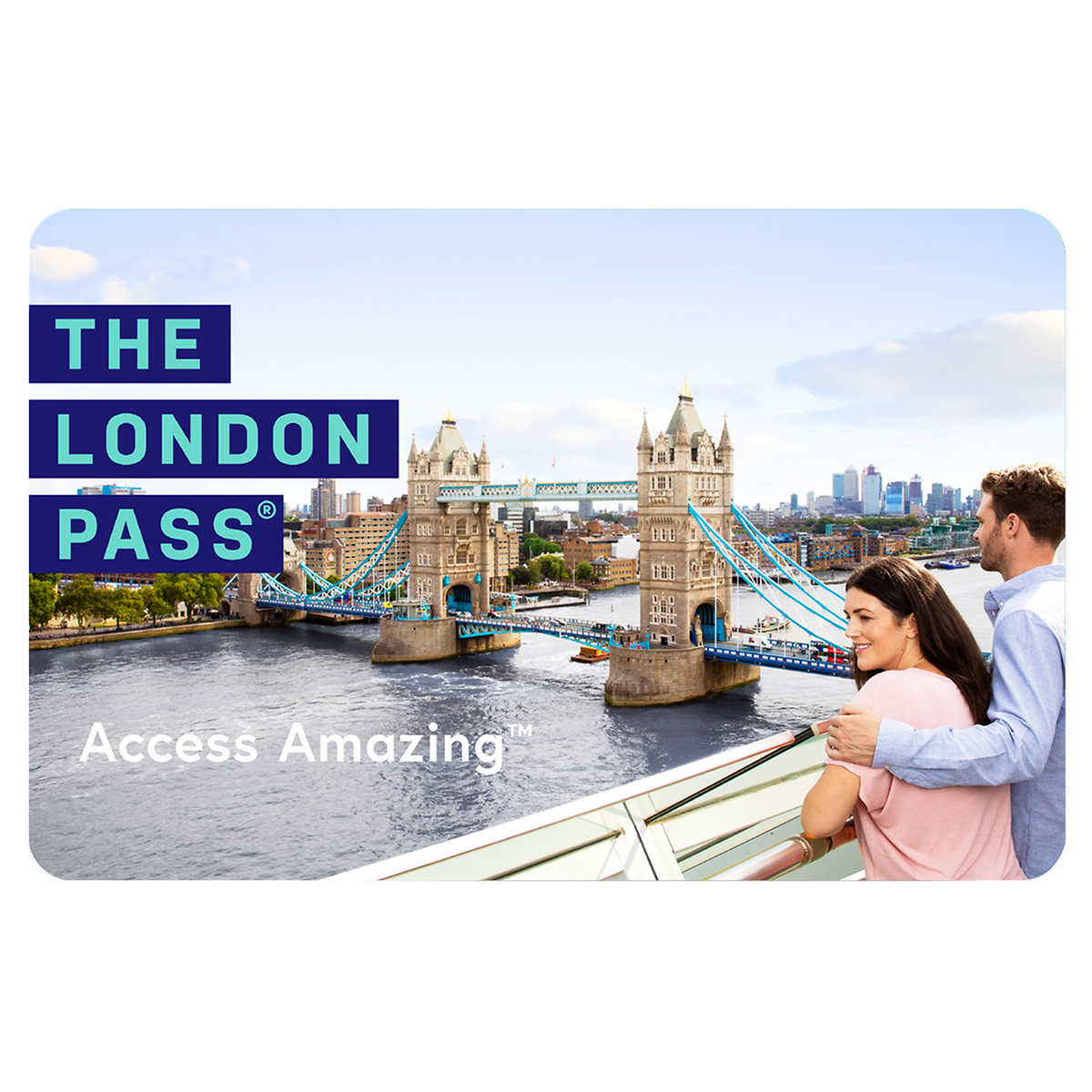 4-day London Pass with Hop-on Hop-off Bus Tour E-card