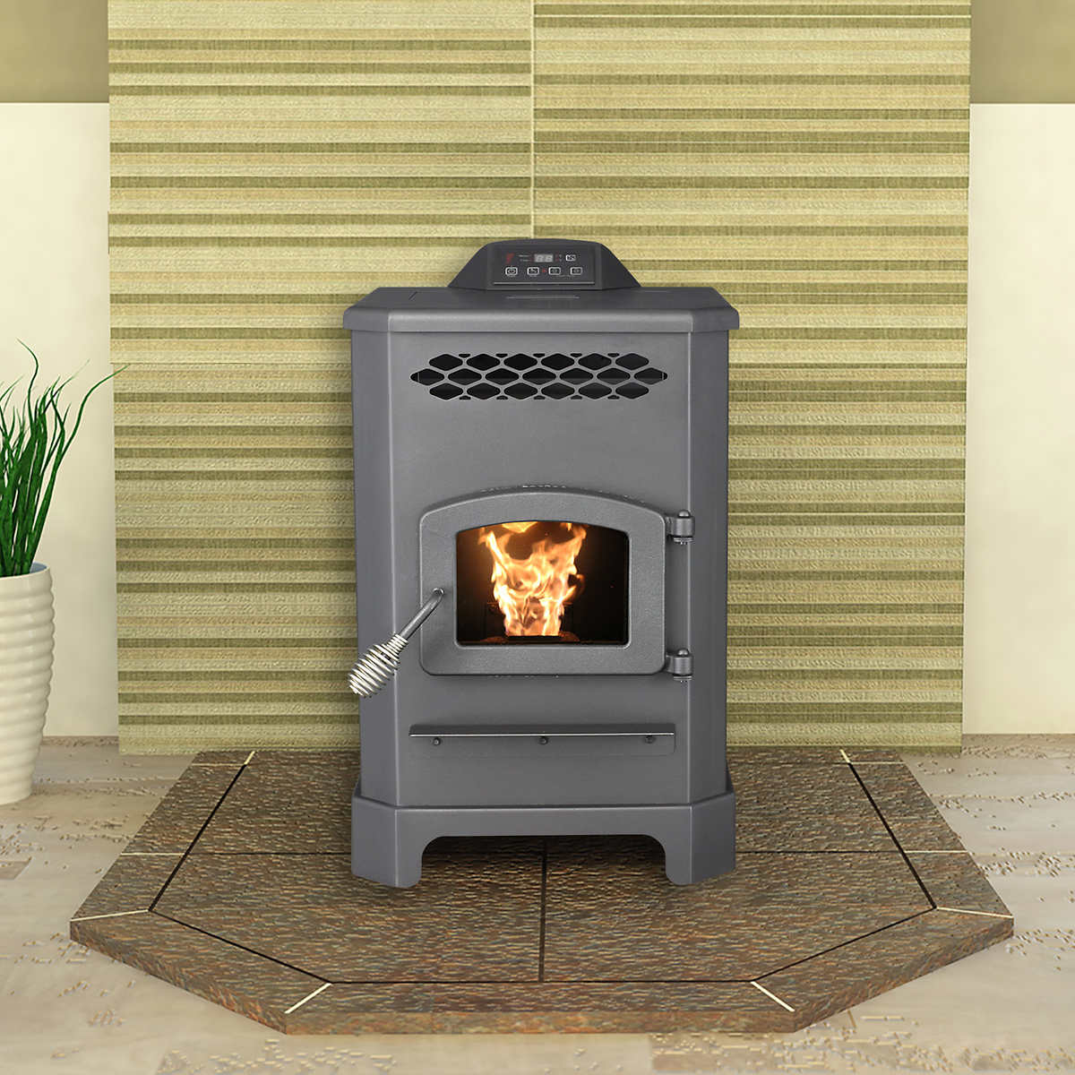 Pellet Stove Vent Cleaning Kit Fireplaces