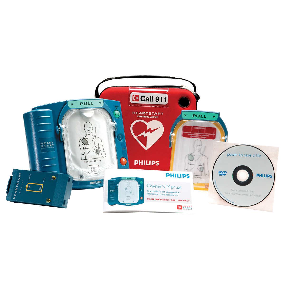 Philips® HeartStart Home Defibrillator - English or French