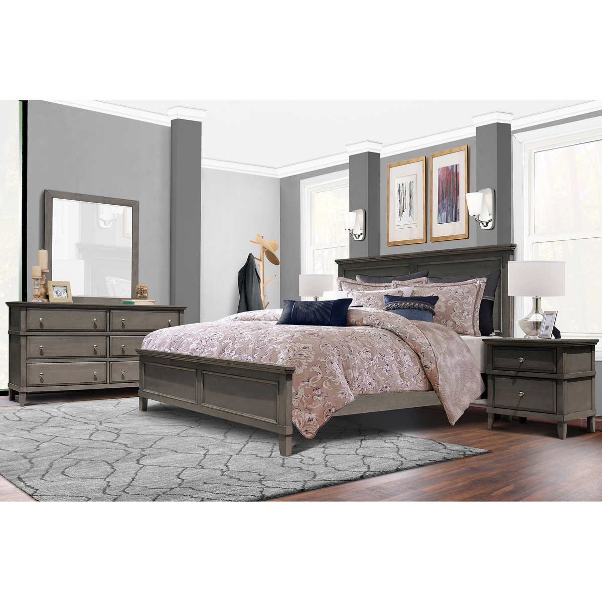 Auburn 5-piece King Bedroom Set