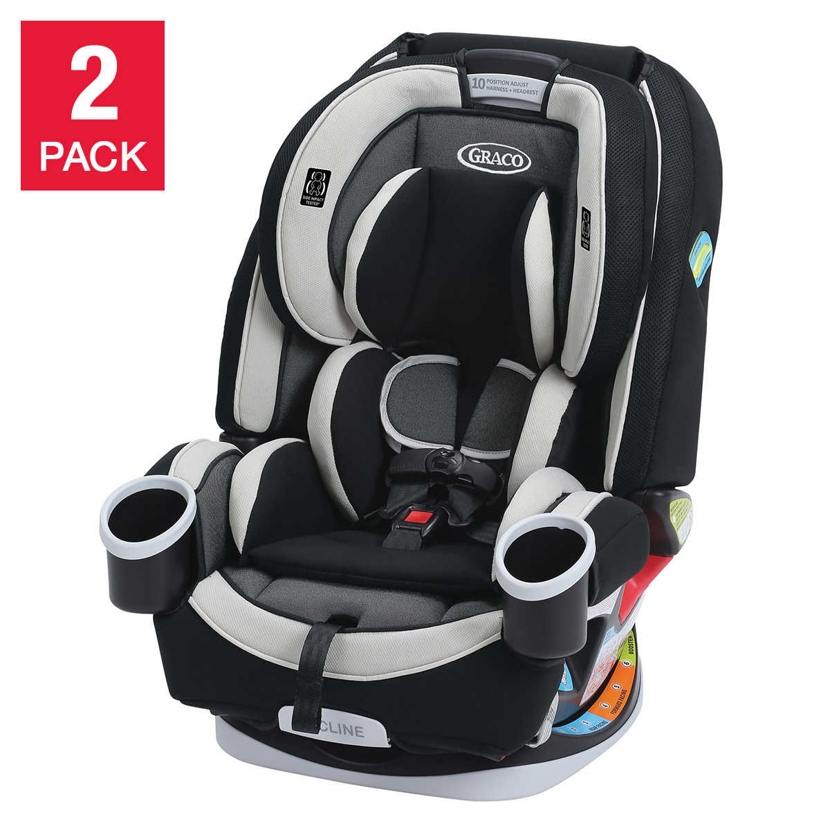 Graco 4ever 4 in 1 convertible car seat 2 pack tuscan