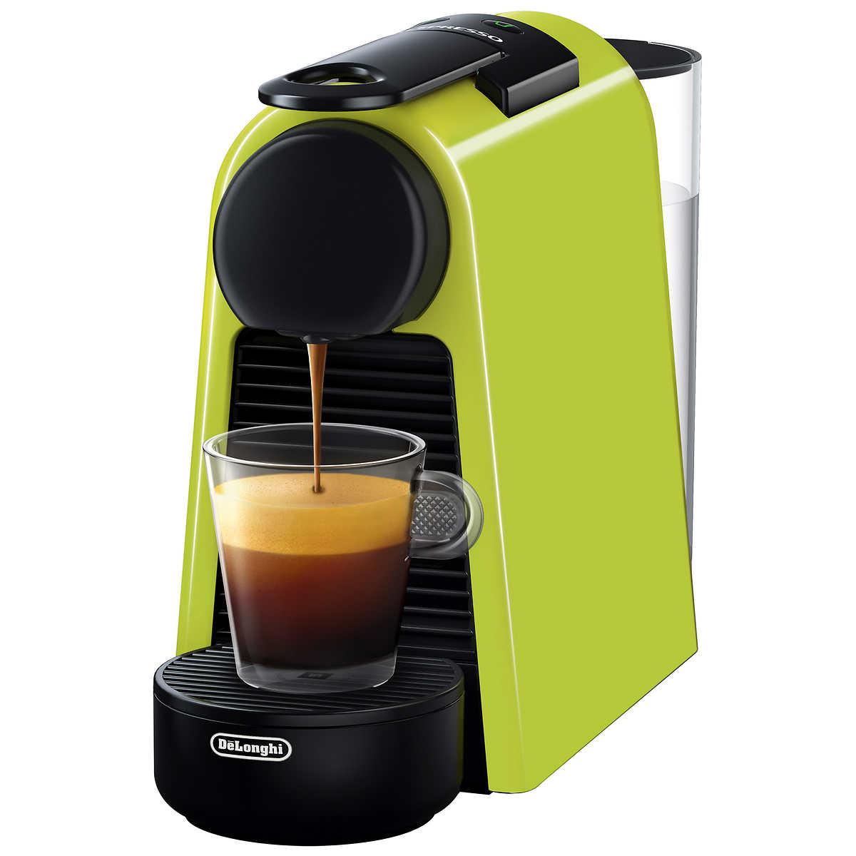 Nespresso Essenza Mini Coffee Machine By Delonghi Lime