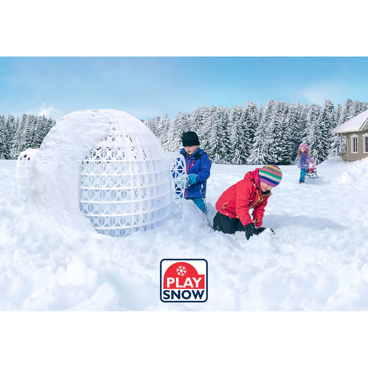 Play Snow Secure Igloo Structure