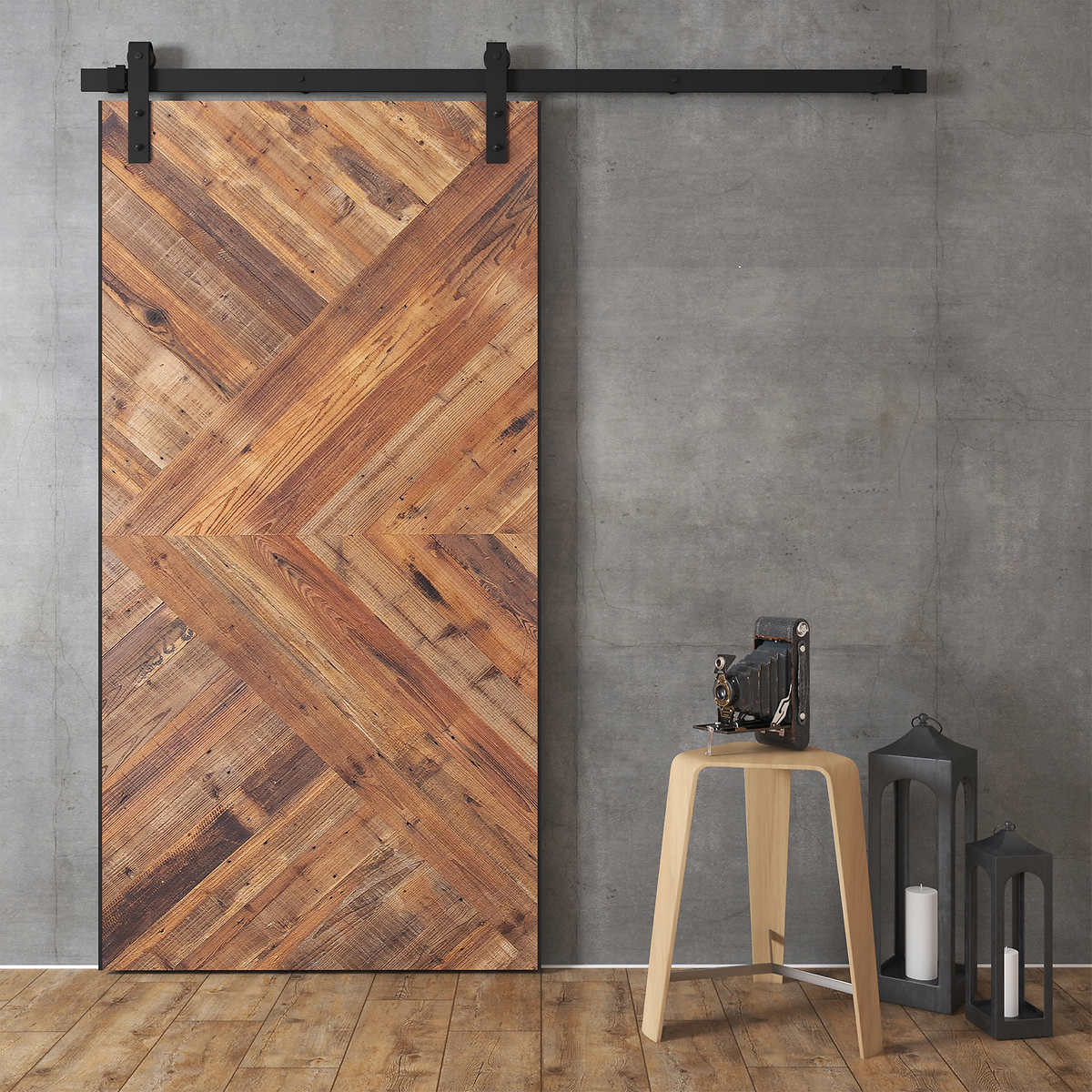 door barns inch reclaimed sliding barn pin wood doors