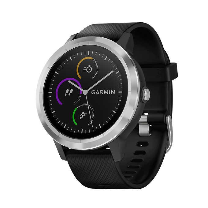 Garmin vivoactive 3 Smartwatch with Stainless Steel Bezel