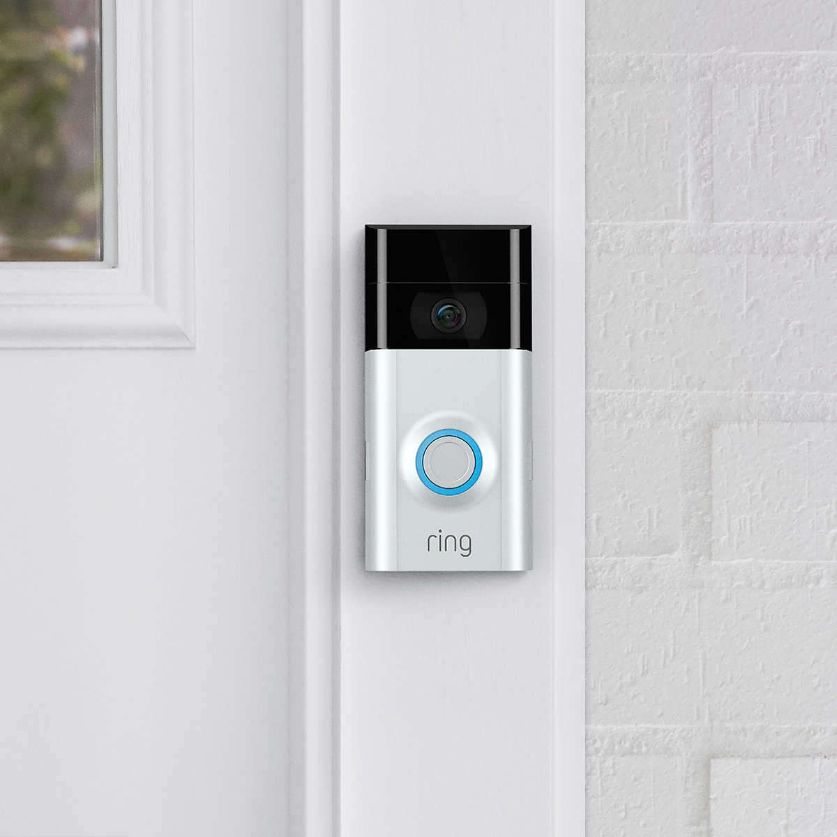 Ring Video Doorbell 2 with Bonus Chime and 1-year Ring Video Cloud Recording