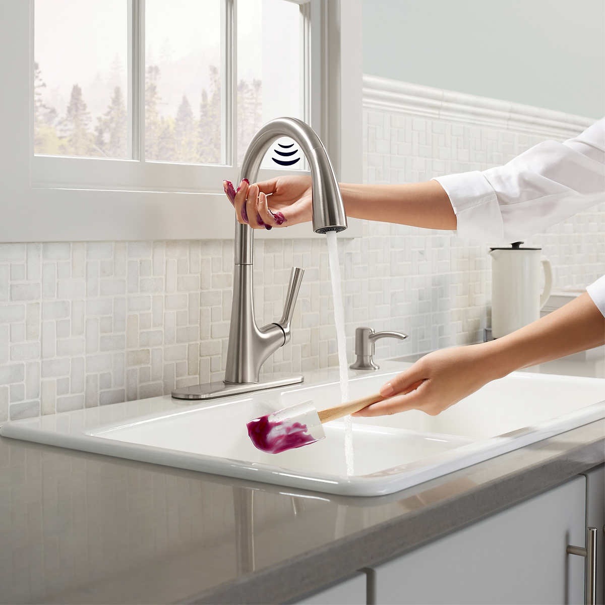 intended kitchen faucets stainless kohler for sink costco hansgrohe lowes faucet