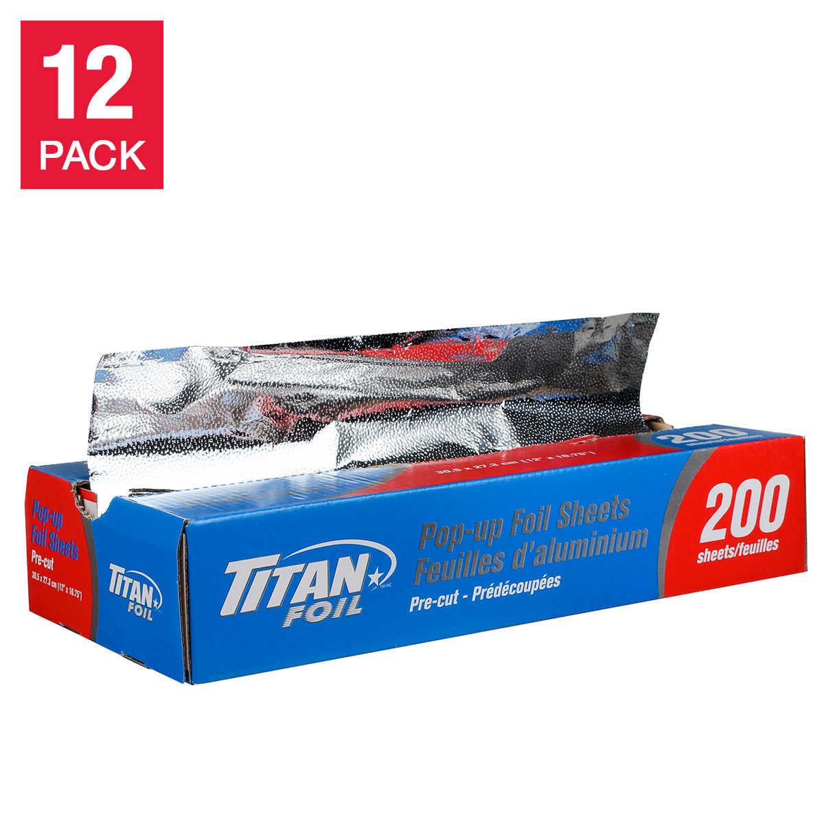 Titan Foil Pop-up Sheets 2,400-count