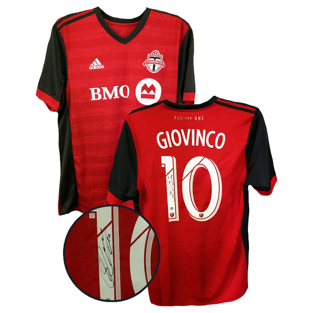 8bc3cf2a0 Sebastian Giovinco Signed Toronto FC Jersey. 1 1