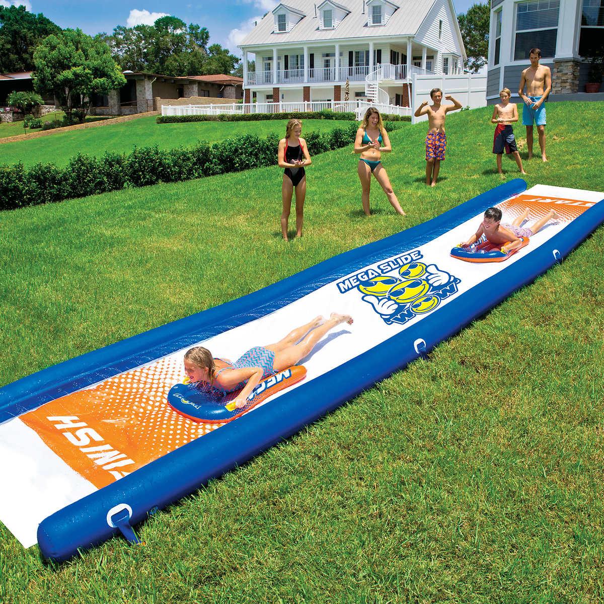 WOW Mega Slide 7 62 m x 1 82 m (25 ft  x 6 ft ) Water Slide