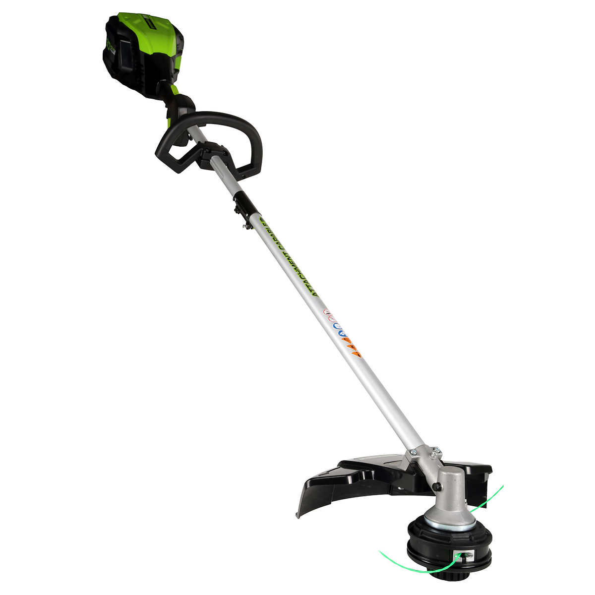 Greenworks Pro 16 in  80V Cordless Grass Trimmer, Bare Tool Only